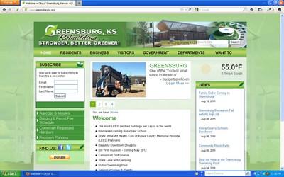 City of Greensburg Website